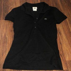 Lacoste black polo